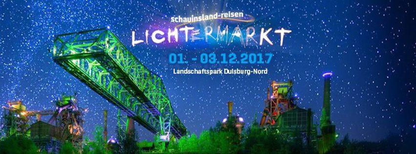 Lichtermarkt Duisburg 2017