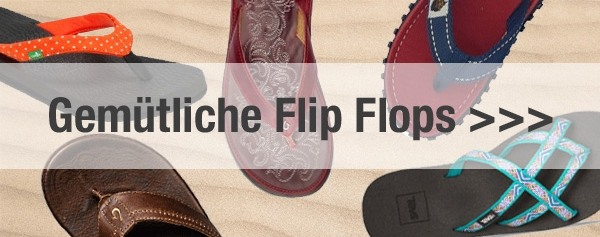 Flip Flop Kollektion bei Unterwegs