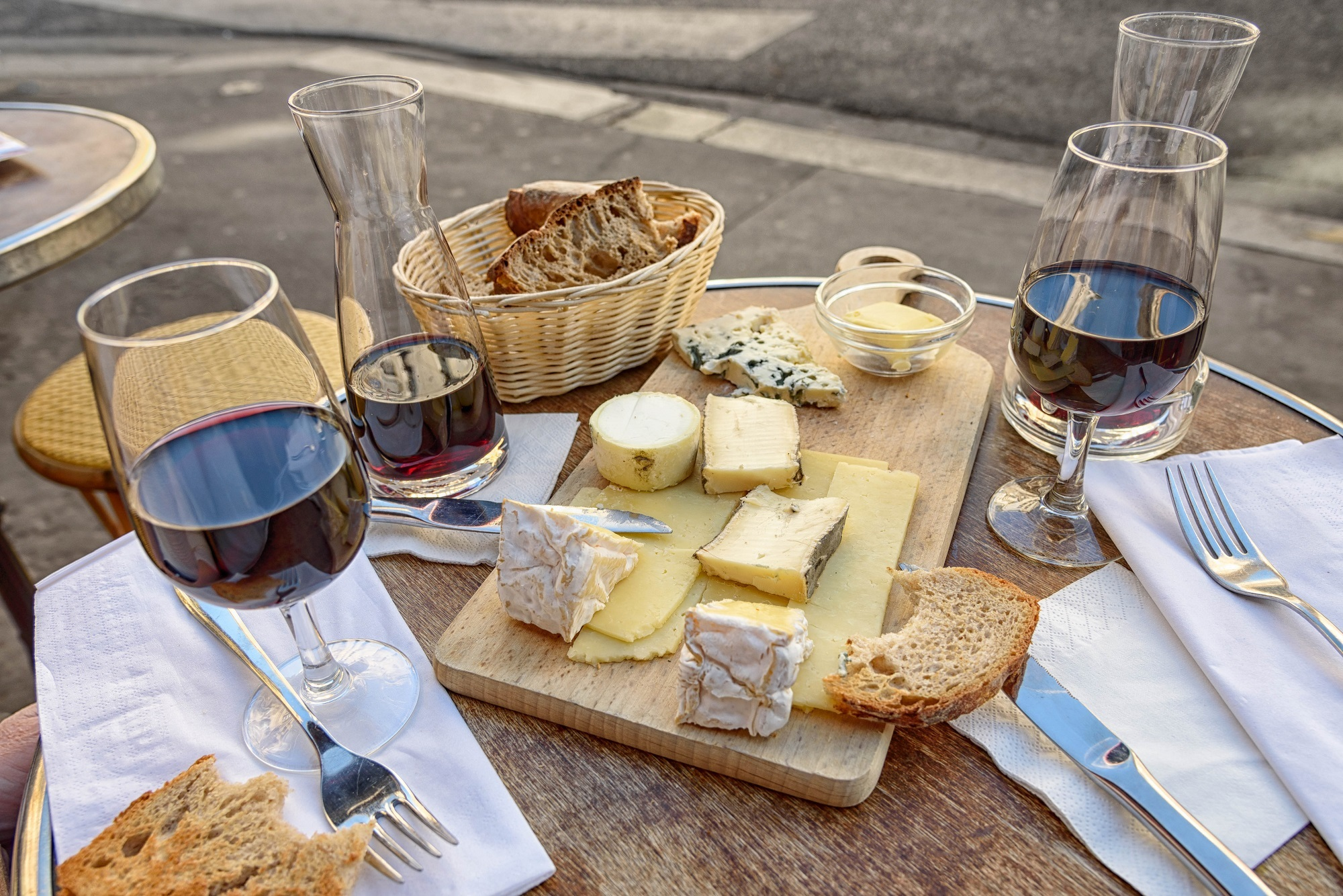 Duisburger Weinfest Käsespezialitäten