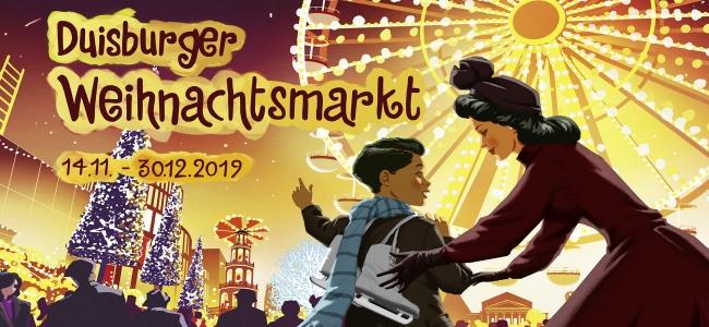 Weihnachtsmarkt in Duisburg 2019