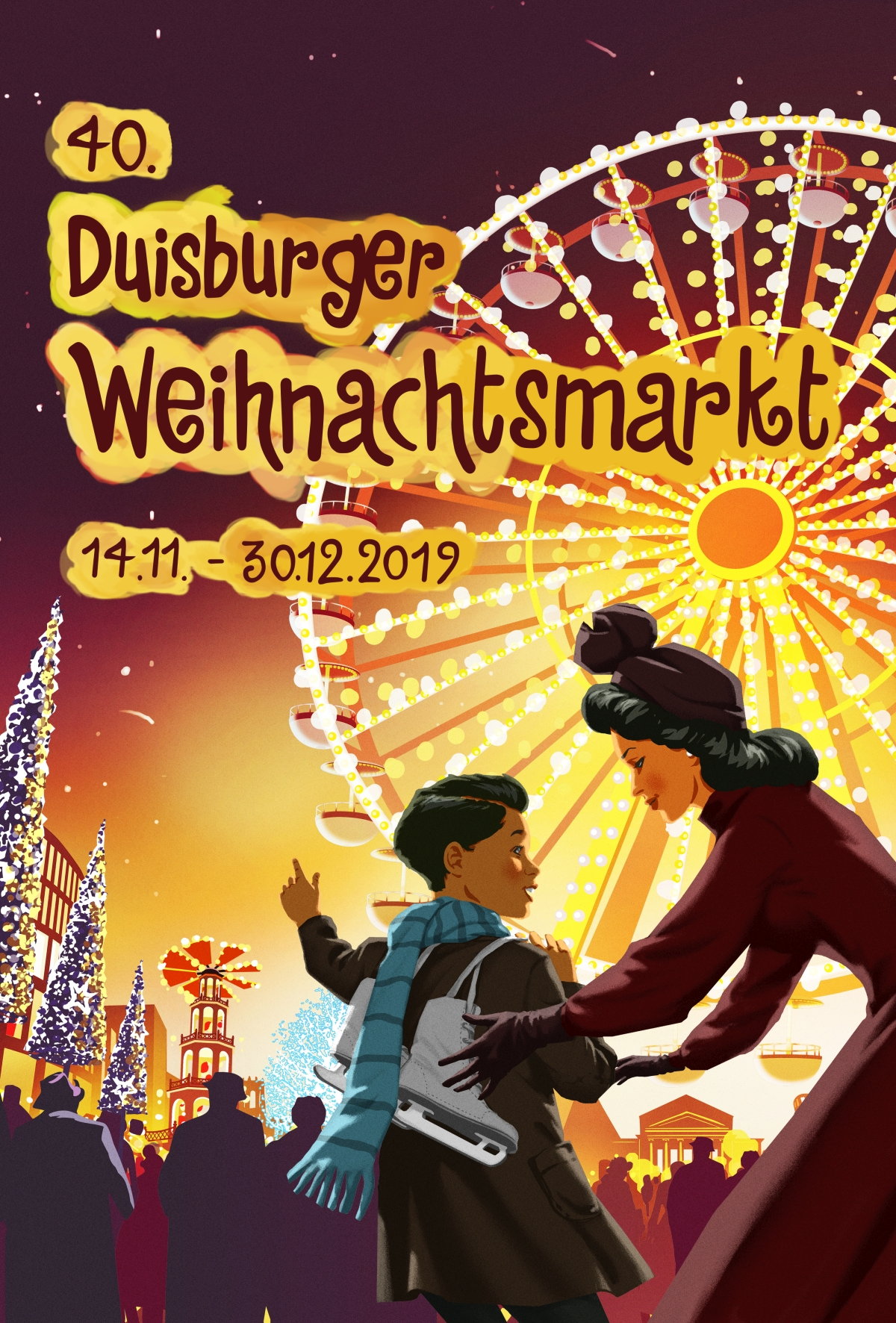 Weihnachtsmarkt Duisburg 2019